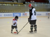 Další generace malých hokejistů vyzkoušela příbramský led (10)