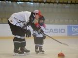 Další generace malých hokejistů vyzkoušela příbramský led (11)
