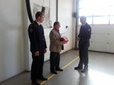 Profesionální hasiči ze Sedlčan mohou zachránit život při náhlé srdeční příhodě ()