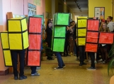 """Na """"gymplu"""" zvítězil halloweenský Tetris (23)"""