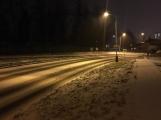 Aktuálně: Silnice pokryl sníh a náledí, komplikace v dopravě sledujeme ON-LINE (1)