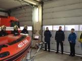 Profesionální hasiči z Dobříše dostali nový přívěs pro záchranný člun (8)