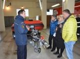 Profesionální hasiči z Dobříše dostali nový přívěs pro záchranný člun (4)