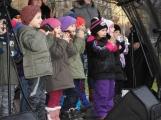 Děti zazpívaly vánoční písně, rodiče byli dojatí ()
