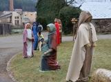 V Čenkově je k vidění ohromný betlém ze sena (10)