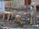V Čenkově je k vidění ohromný betlém ze sena (7)