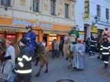 Do Příbrami opět dorazili Tři králové na velbloudech (12)