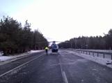Aktuálně: Hromadná nehoda uzavřela dálnici D4! V místě přistává vrtulník (5)