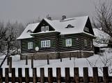 Zimní Brdy uvítaly účastníky pochodu pořádnou sněhovou nadílkou ()
