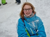 Zimní Brdy uvítaly účastníky pochodu pořádnou sněhovou nadílkou (75)