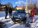 Aktuálně: V Rožmitále se srazily dva vozy ()