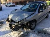 Aktuálně: V Rožmitále se srazily dva vozy (2)