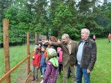 Ve Skorotíně nedaleko Příbrami byla otevřena obora se zvířaty ()