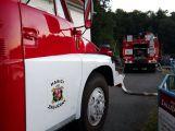 Rožmberk v plamenech: Výletní parník zachvátil požár (1)