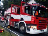 Rožmberk v plamenech: Výletní parník zachvátil požár (2)