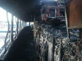 Rožmberk v plamenech: Výletní parník zachvátil požár (5)