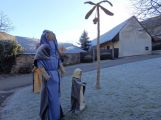Betlém v Čenkově obsahuje už 53 figur, navštívit ho můžete až do 8. ledna (1)