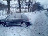 Zhoršení počasí překvapilo řadu řidičů (1)