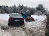 U Voltuše se srazilo BMW s Renaultem ()