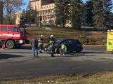 U aquaparku se srazily dva vozy, hlášeno je zranění ()