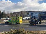 U aquaparku se srazily dva vozy, hlášeno je zranění (1)