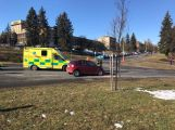 U aquaparku se srazily dva vozy, hlášeno je zranění (2)
