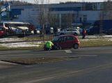 U aquaparku se srazily dva vozy, hlášeno je zranění (4)