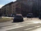 U aquaparku se srazily dva vozy, hlášeno je zranění (6)