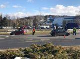 U aquaparku se srazily dva vozy, hlášeno je zranění (7)