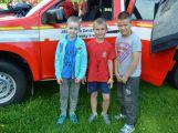 Hasiči ze Zalužan ráno evakuovali žáky ze školy v Chrašticích (5)
