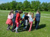 Hasiči ze Zalužan ráno evakuovali žáky ze školy v Chrašticích (24)