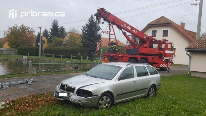 Dopravní nehoda osobního vozu Škoda, při které …