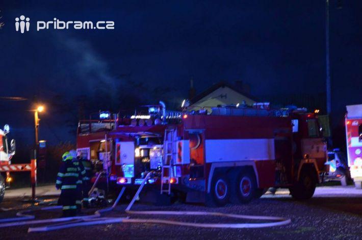 Požár budovy restaurace v Mníšku pod Brdy byl …