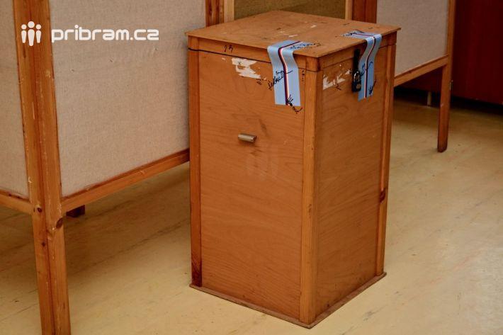Dnes ve 14 hodin se otevřely volební místnosti …