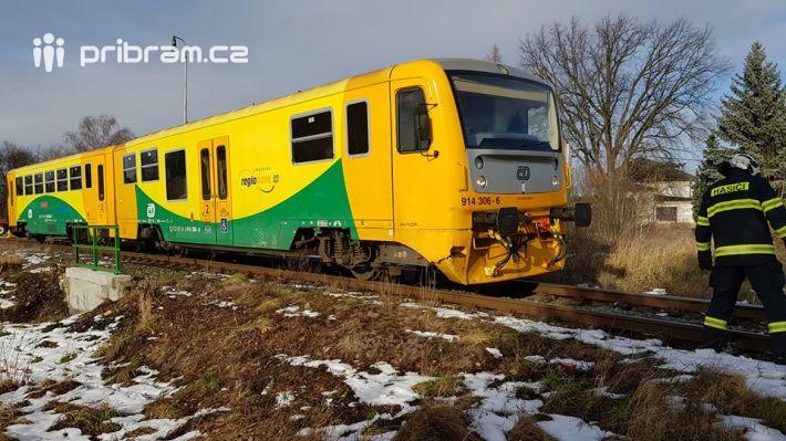 Dopravní nehoda dodávky s vlakem aktuálně …