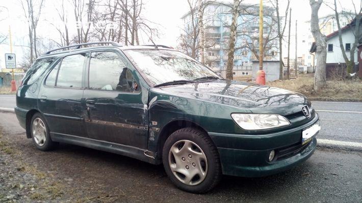 Dopravní nehoda vozu značky Peugeot a …