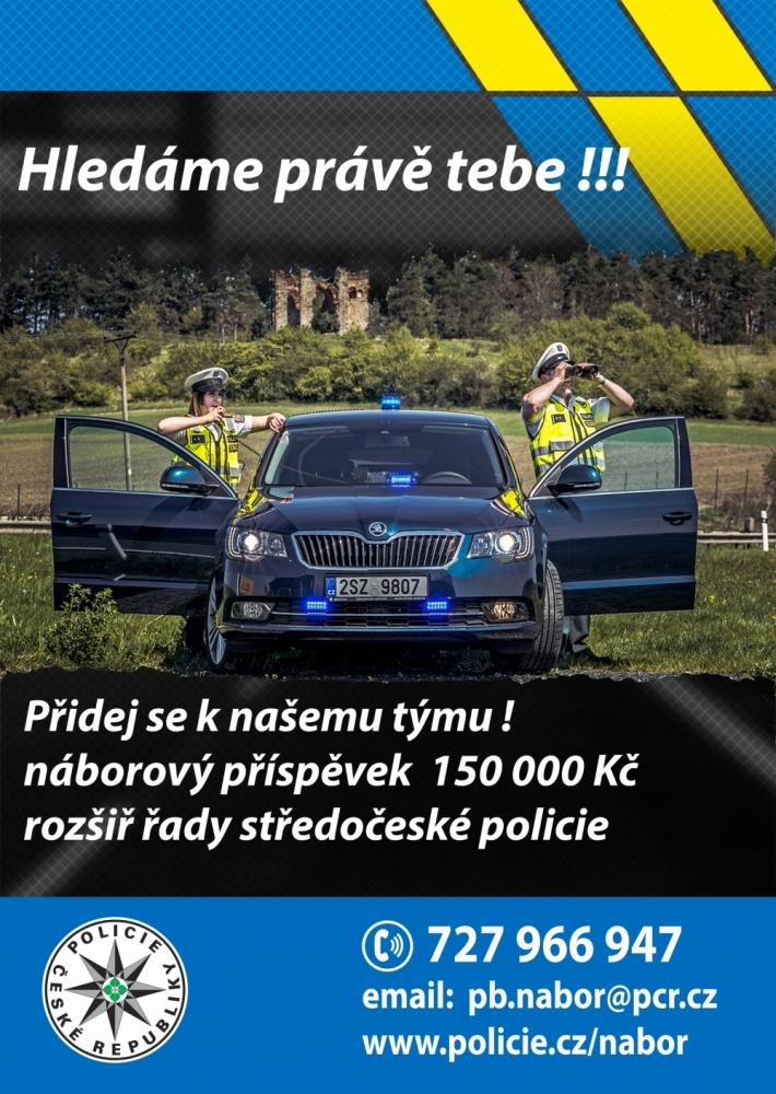 Policie ČR neustále hledá nové kolegy na volná …