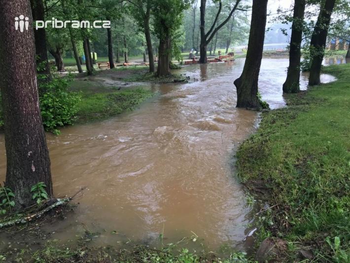 7:30 Nový rybník. Nedostatek vody na Nováku se …