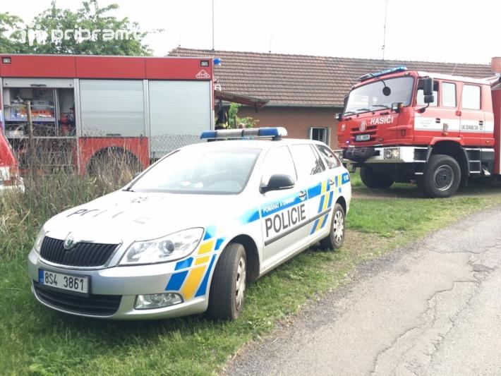 Profesionální hasiči z Příbrami, společně s …