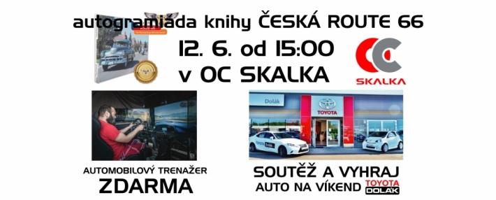 Autogramiáda autora knihy Česká Route 66 a …