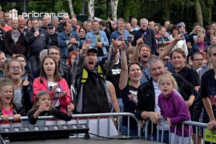 Návštěvníci koncertu uvítali ve čtvrtek dvě …