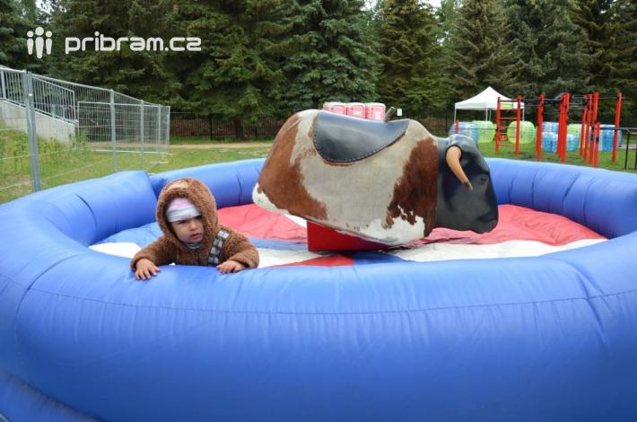Je připravena i skvělá zábava pro starší děti …