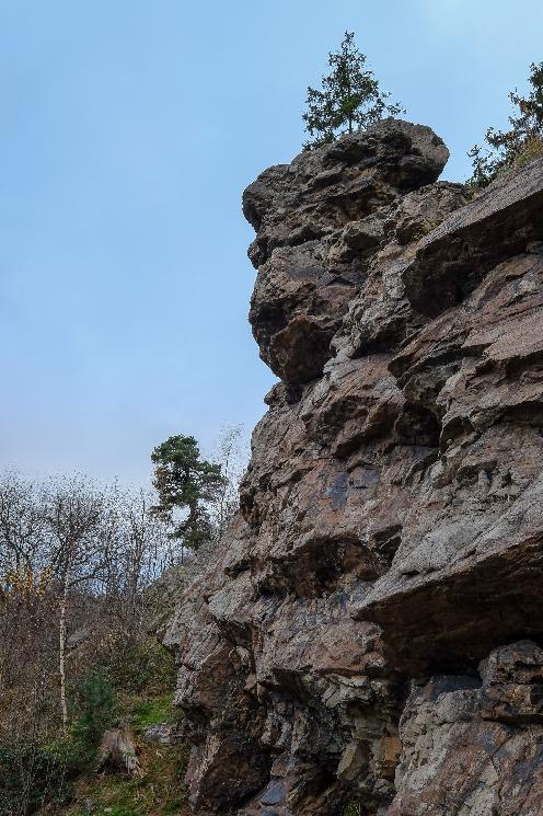 Žežické skalky nabízí úžasný výhled a jsou …