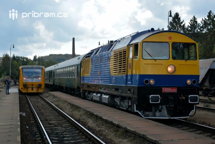 Zájemce o železniční historii jistě potěšila i …