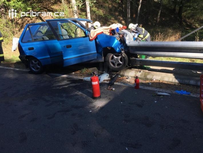 Vážná dopravní nehoda zastavila provoz na …