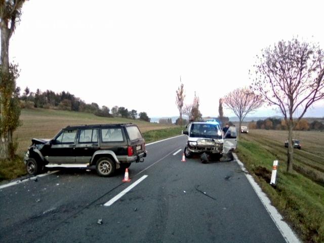 K aktuální dopravní nehodě došlo na silnici č. …
