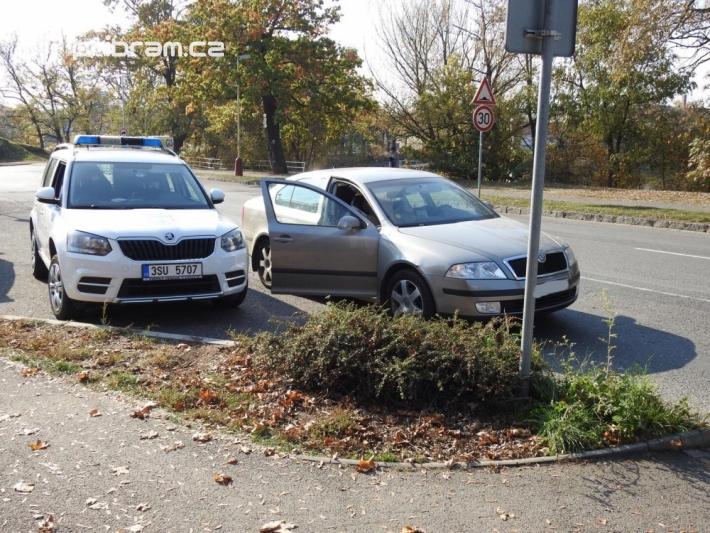 V ulici Pivovarská na Dobříši došlo k dopravní …