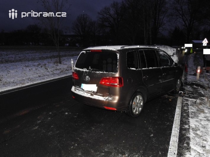 Dopravní nehoda - Trhové Dušníky