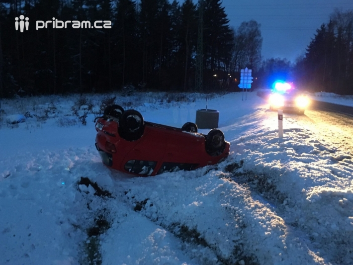 Dopravní nehoda - Hájecká křižovatka