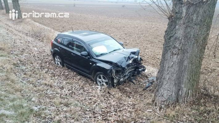 Dopravní nehoda na silnici čislo 114, mezi …